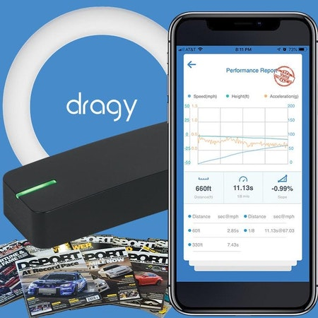 "Dragy Performance Meter ""GPS"" Slut i lager"