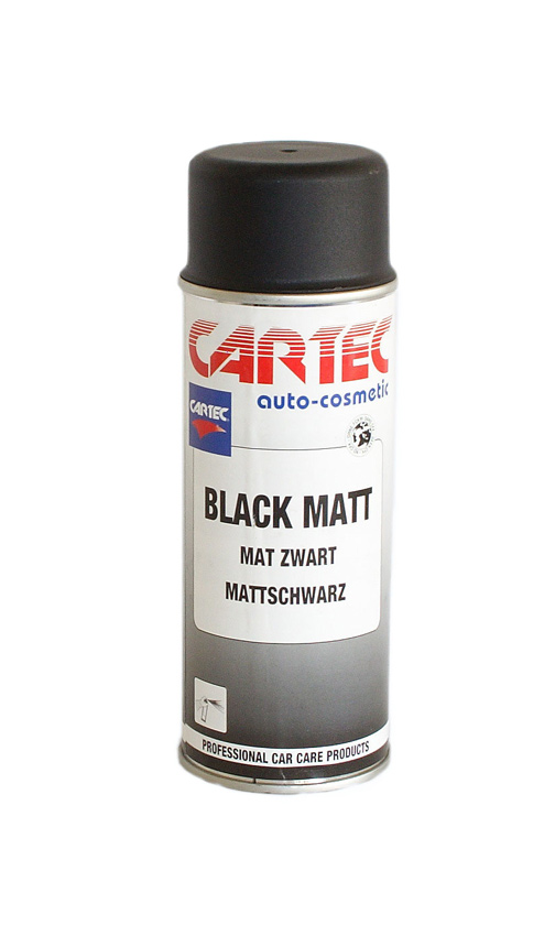 Black Matt Spray