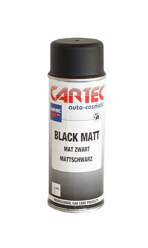Black Matt Spray