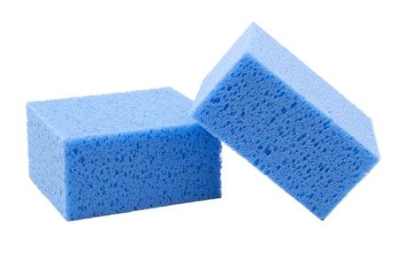Appliceringssvamp Blå VAX
