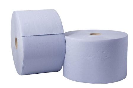 Papper Blått