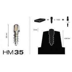 MaxiGrip Skruvdubb HM35