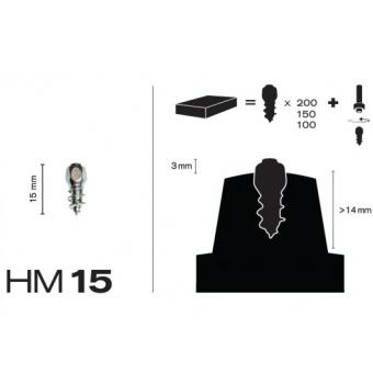 MaxiGrip Skruvdubb HM15
