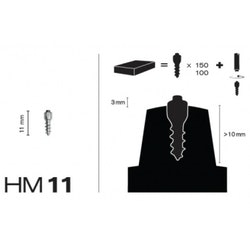MaxiGrip Skruvdubb HM11