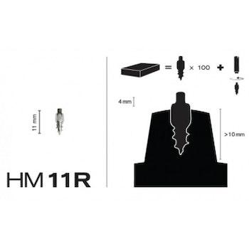 Skruvdubb MaxiGrip Racing HM11R 4,0 mm