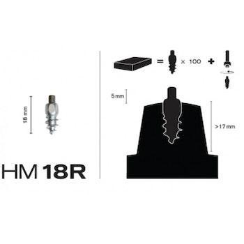 Skruvdubb MaxiGrip Racing HM18R 5,0 mm