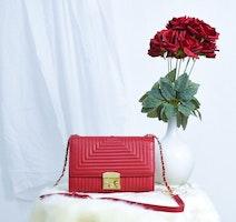 La Bella Sweden red crossbody bag