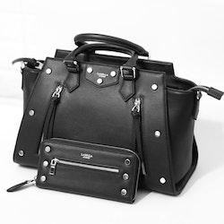 la bella sweden Rocky black bag