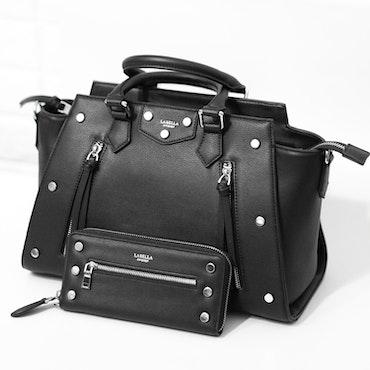 la bella sweden Rocky black bag