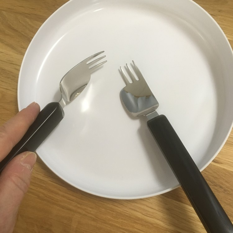 Kombinationsbestick - kniv/gaffel