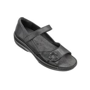 Sandal med hälkappa