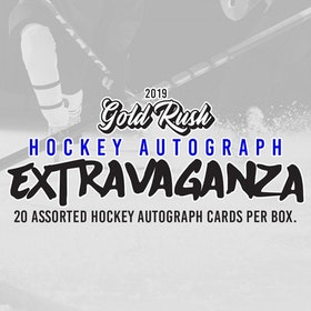 2019-20 Gold Rush Extravaganza Hockey Relic Box