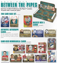 2012-13 Between the Pipes (Hobby Pack)