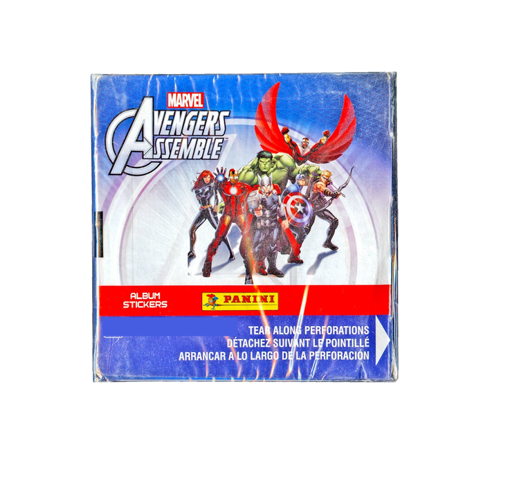 Details about  /*NEW* 2014 Panini Marvel AVENGERS ASSEMBLE AlbumW//POSTER /& 50 PACK 7 CT STICKERS