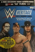 2015 Topps WWE Heritage Wrestling (Blaster Pack)