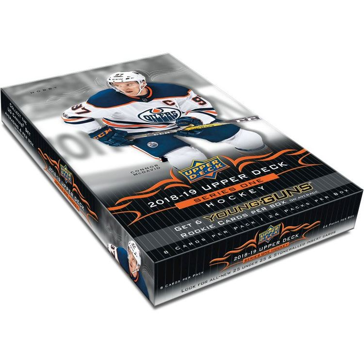 2018-19 Upper Deck Series 1 (Hobby Box)