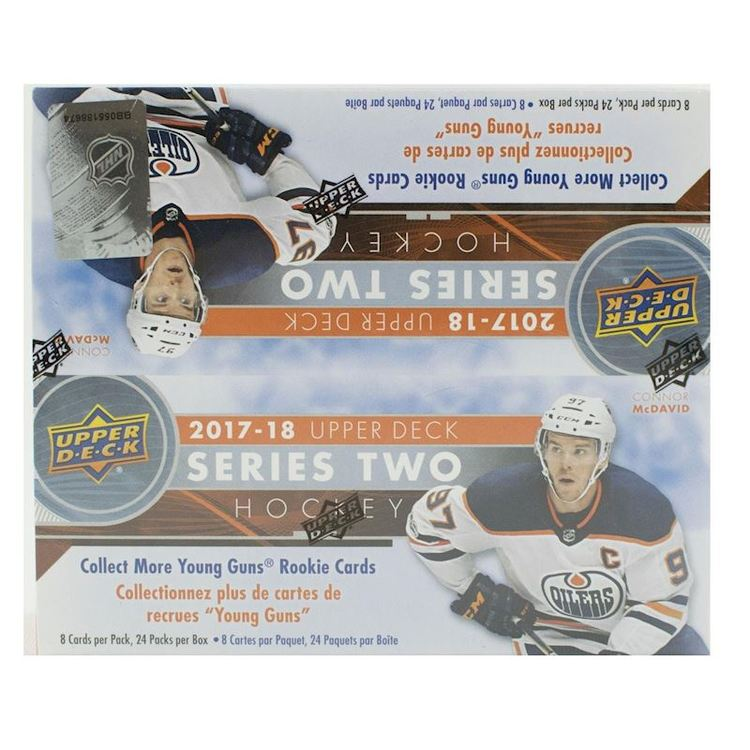 2017-18 Upper Deck Series 2 (24-Pack Box)