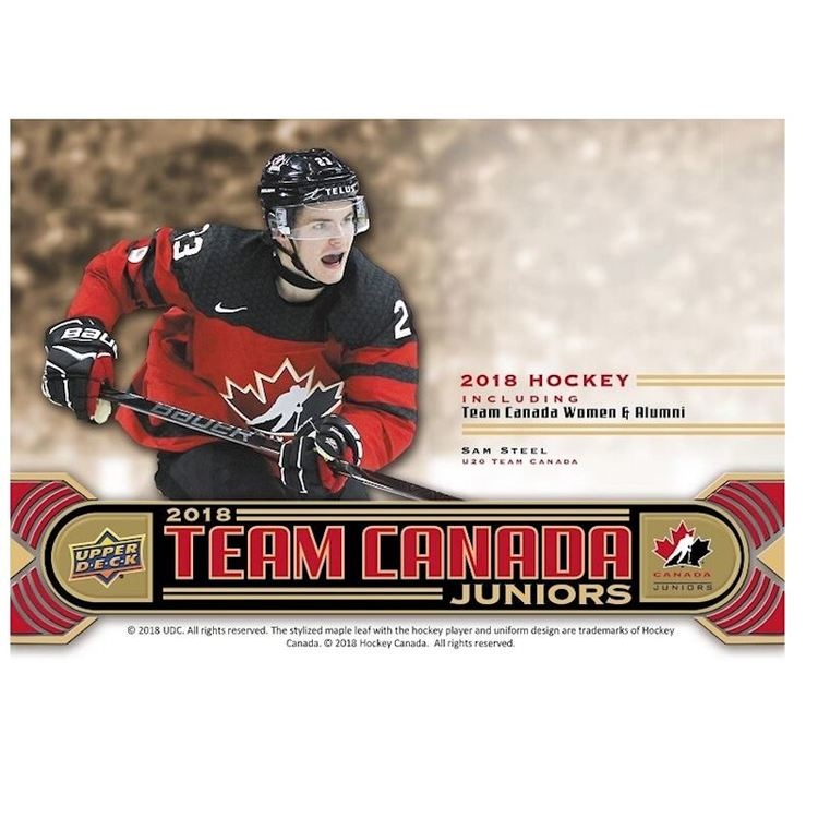 2017-18 Upper Deck Team Canada Juniors