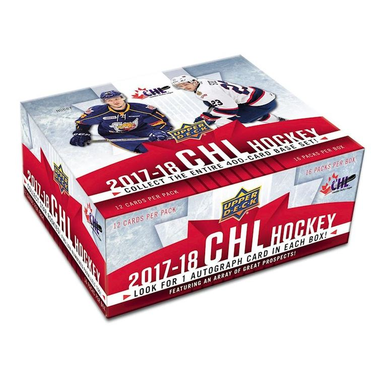2017-18 Upper Deck CHL