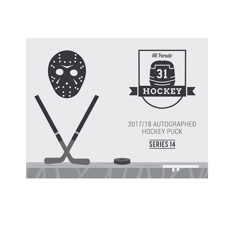 2017-18 Hit Parade Autographed Hockey Puck (Series 11)