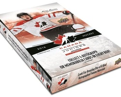 2016-17 Upper Deck Team Canada World Juniors (Hobby Box)