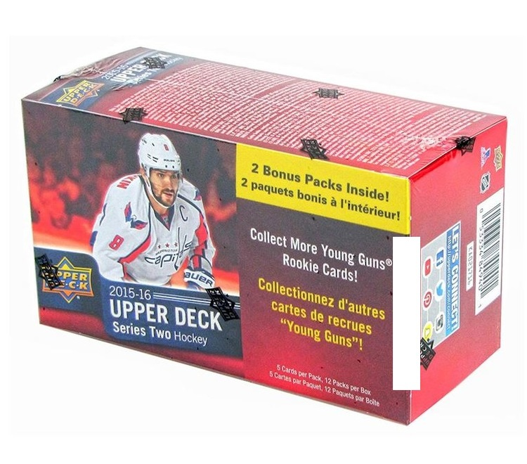 2015-16 Upper Deck Series 2 (12-packs Blaster)