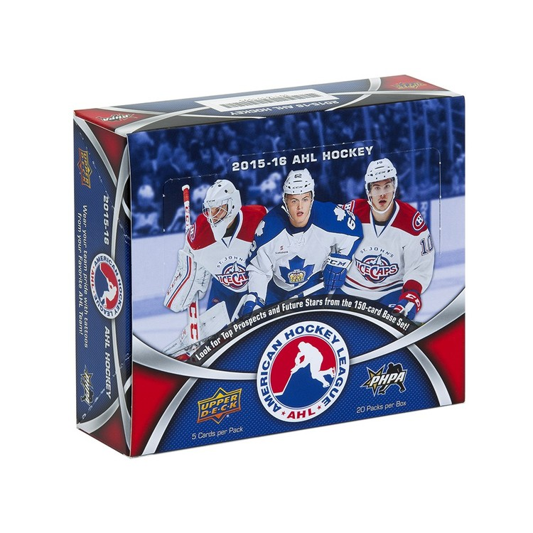 2015-16 Upper Deck AHL (Hobby Box)