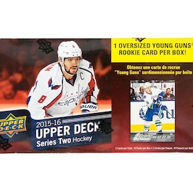 2015-16 Upper Deck Series 2 (10-packs Blaster)