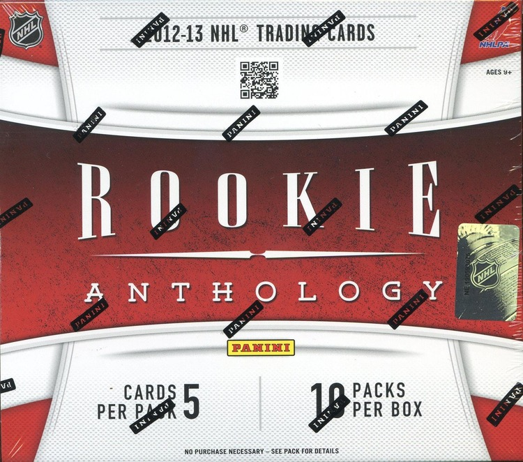 2012-13 Panini Rookie Anthology
