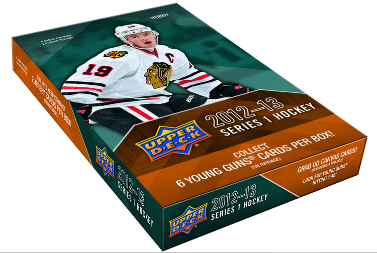 2012-13 Upper Deck Series 1 (Hobby Box)