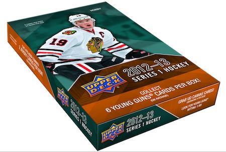 2012-13 Upper Deck Series 1 (Hobby Box)