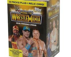 2015 Topps Road to Wrestlemania Wrestling (10-Pack Box)