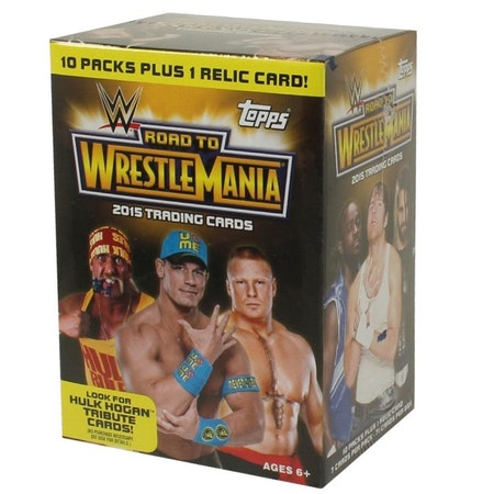 2015 Topps Road to Wrestlemania Wrestling (10-Pack Box)