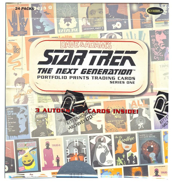 2015 Star Trek: The Next Generation (Portfolio Prints Box)