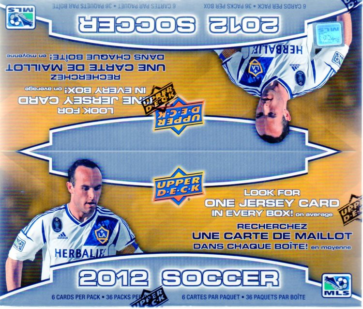 2012-13 Upper Deck Soccer (Retail Box)