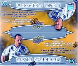 2012-13 Upper Deck Soccer (Retail Box)