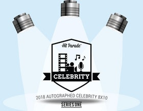 2018 Hit Parade Autographed Celebrity 8x10 (Series 1)
