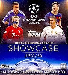 2015-16 Topps UEFA Champions League Showcase (Hobby Mini-Box)