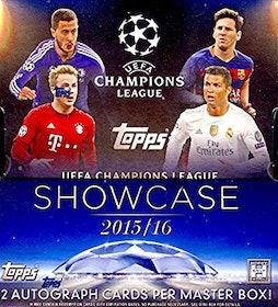 2015-16 Topps UEFA Champions League Showcase (Hobby Mini-Box)