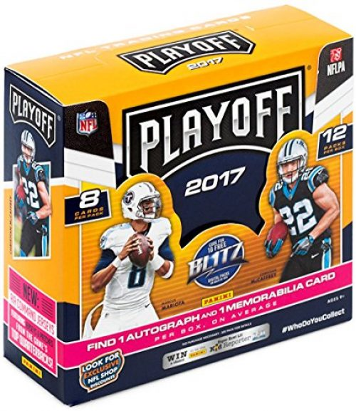 2017 Panini Playoff Football (Hobby Box)