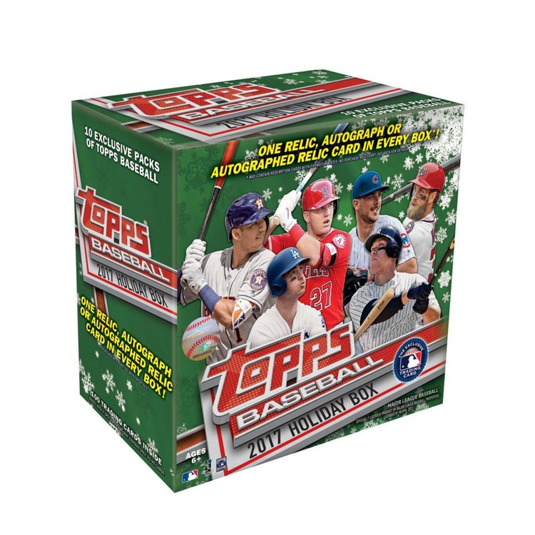 2017 Topps Holiday Baseball (Mega Box)