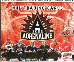 2001-02 Pacific Adrenaline (Hobby Box)