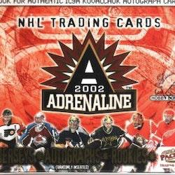 2001-02 Pacific Adrenaline (Hobby Box)