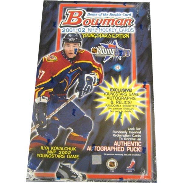 2001-02 Bowman Youngstars