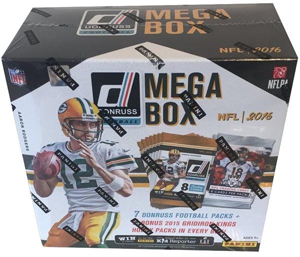 2016 Donruss Football (Mega Box)