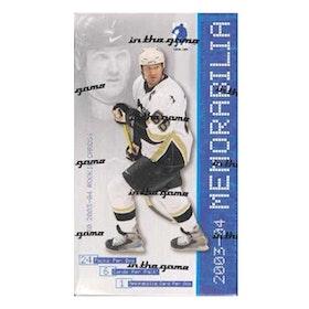 2003-04 Be A Player Memorabilia