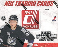2010-11 Donruss (Hobby Box)