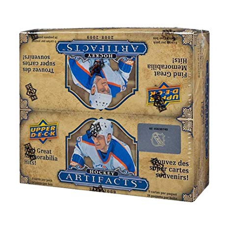2008-09 Artifacts (Retail Box)