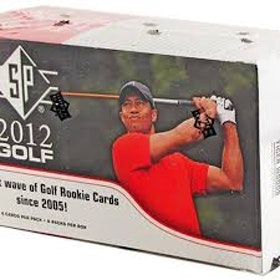 2012 Upper Deck SP Golf (8-Pack Box)