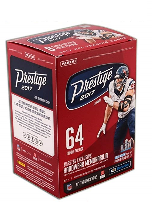 2017 Panini Prestige Football (8-Pack Box)